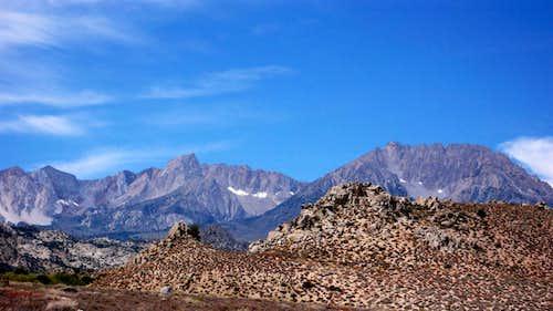 Eastern Sierra, Below South Lake