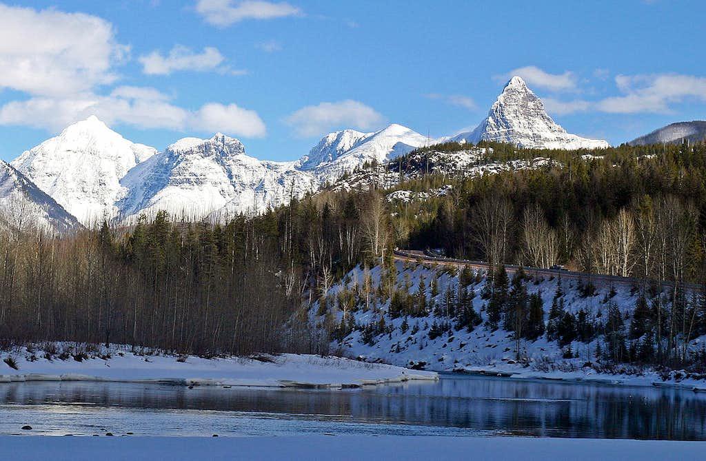 Flathead River and St. Nicholas