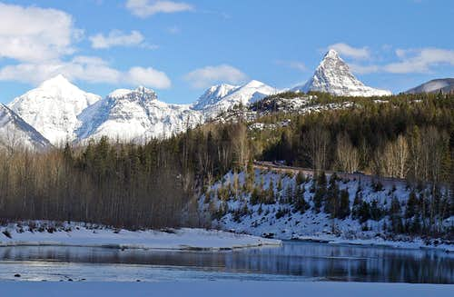 Flathead River and St. Nicholas
