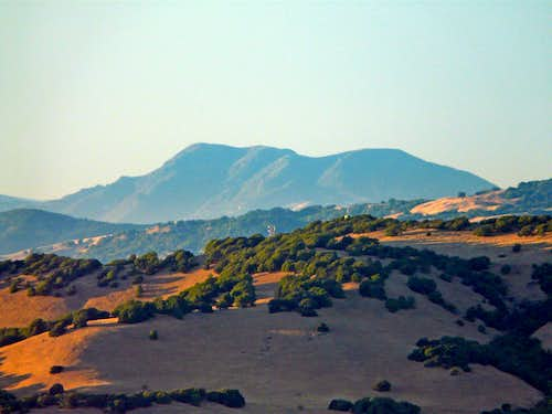 Mt. St. Helena from Big Rock Ridge