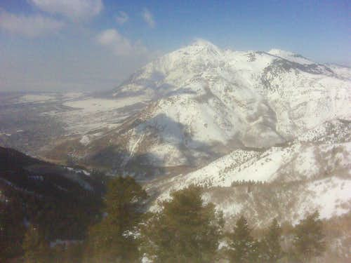 Eyrie Peak Winter