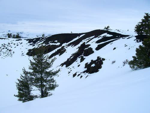 Crater Near Trailhead