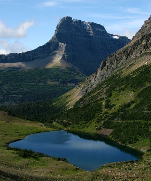 Mount Wilbur and Ptarmigan Lake