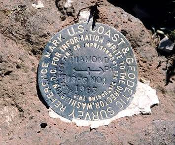 Diamond Peak Witness Marker (WA)