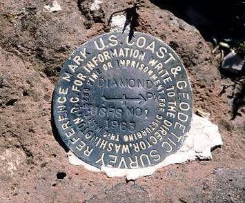 Diamond Peak Witness Marker (WA)