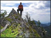 On the SW ridge of Veliki Rogatec