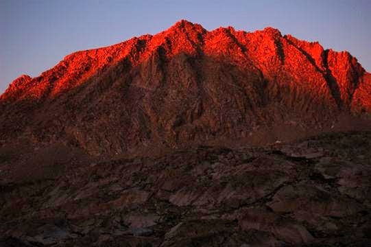 Mt. Huxley Alpenglow