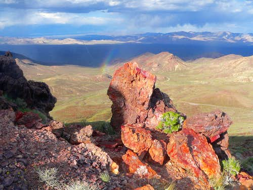 East from Daylight Peak