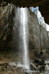 La Cosane waterfall