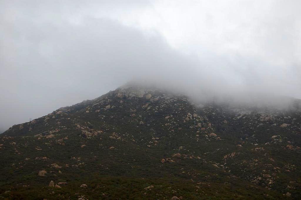 Oakzanita Peak Clouds