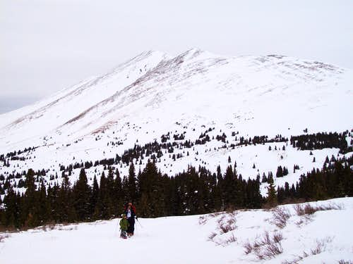 On the way to Boreas Pass