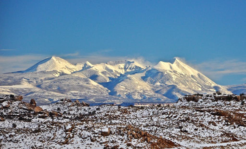 La Sal Mountains