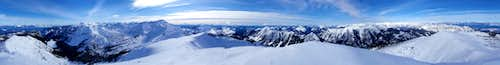 Middle Chiwaukum 360° View