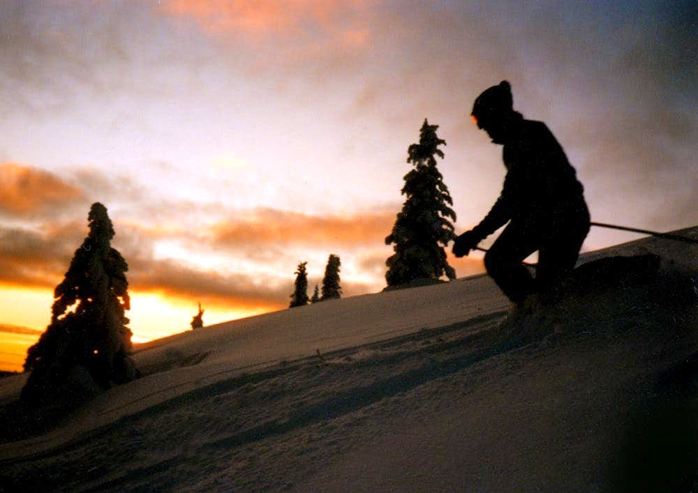 Mount Baldy, Summit Sunset