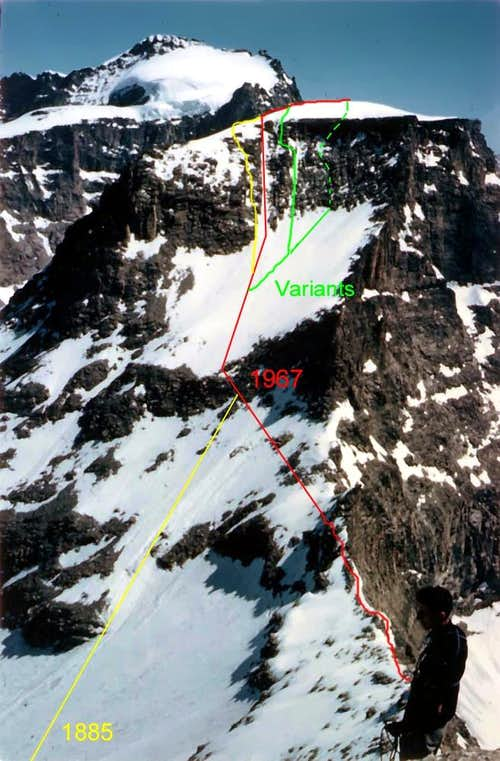 Ciarforon North Face and Normal Routes 3642m