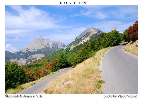 The road to Jezerski Vrh