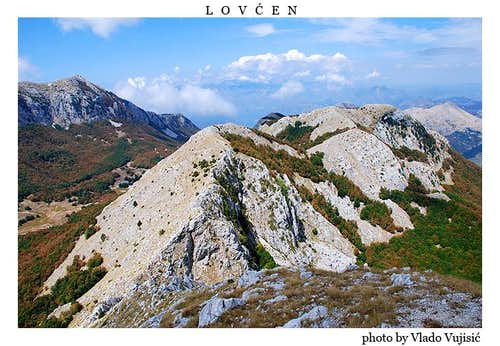 Lovćen summit view