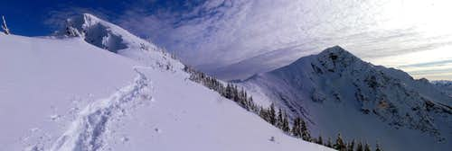 North and Middle Chiwaukum Panorama