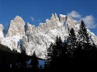 Pala di San Martino with Campanile and Cima di Val di Roda
