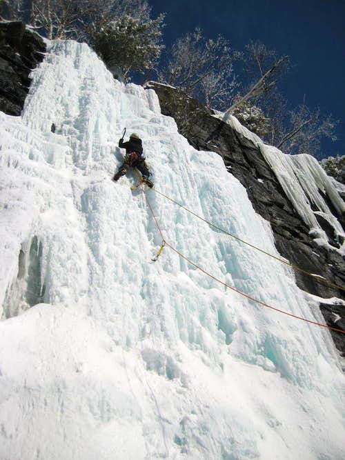 Adirondacks Ice, Chiller Pillar WI4