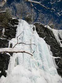 Adirondacks Ice, Chiller Pillar WI4