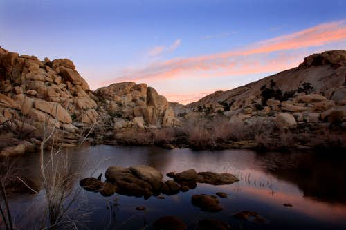 Sunrise at Barker Dam