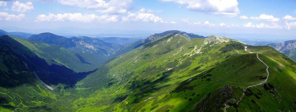 Starorobociańska Dolina