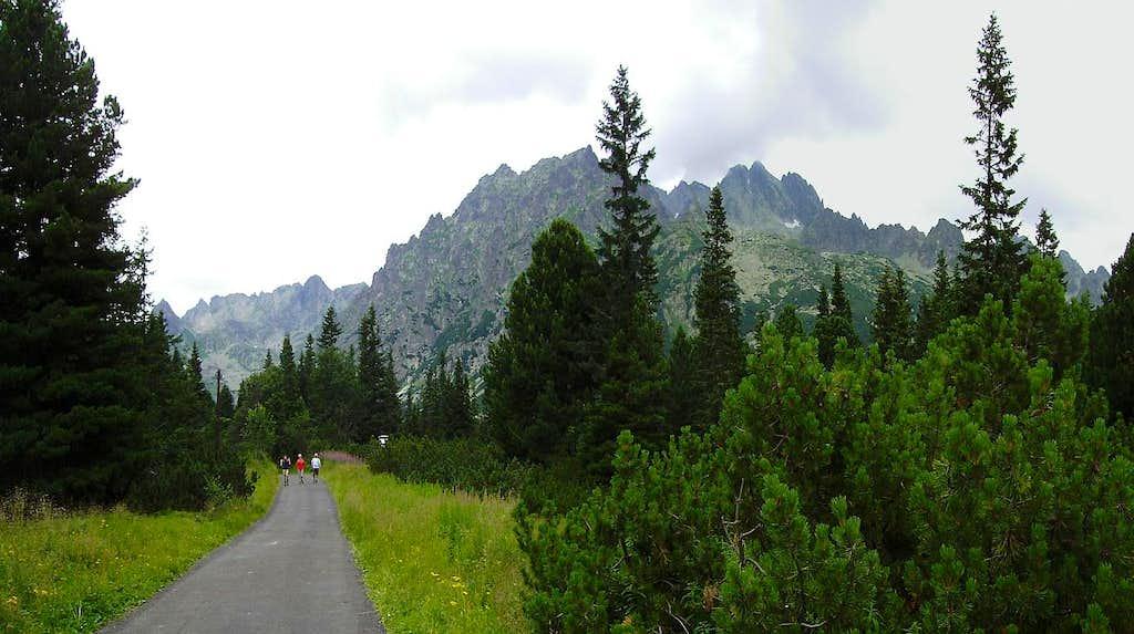Towards Popradskie Pleso