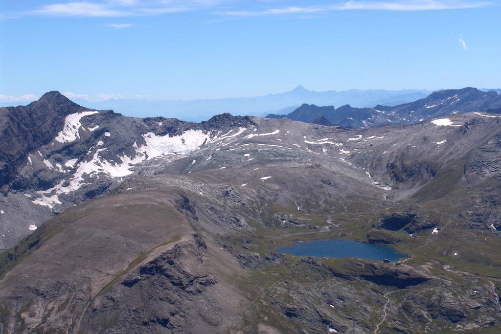 From Mount Glacier to Monviso