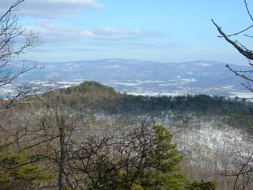 Hartman Knob and Blue Ridge