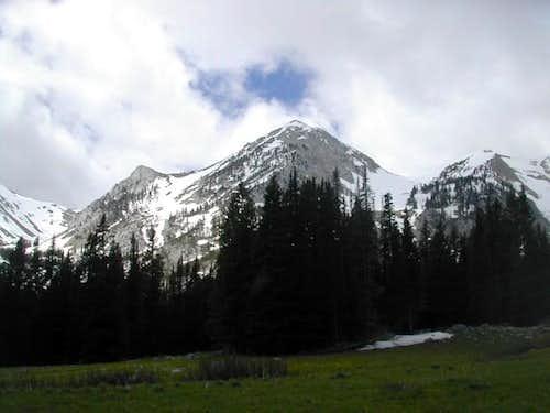 Sacagawea Peak. June, 2004.