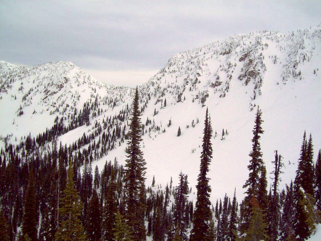 View of Noisy Creek Basin