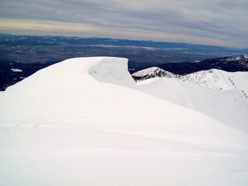 Cornices and the Flathead Valley