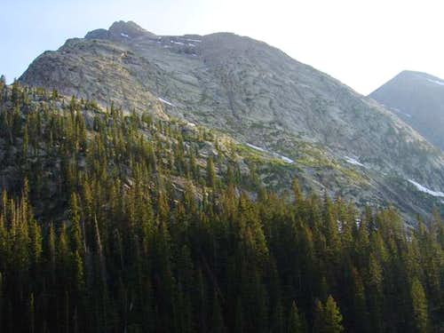 Arrow Peak from a camp in...