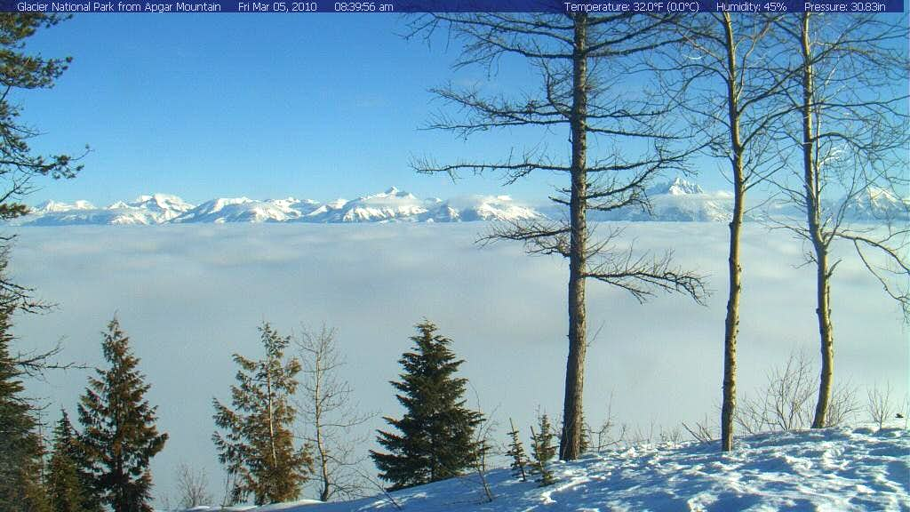 Glacier National Park Webcam Photos
