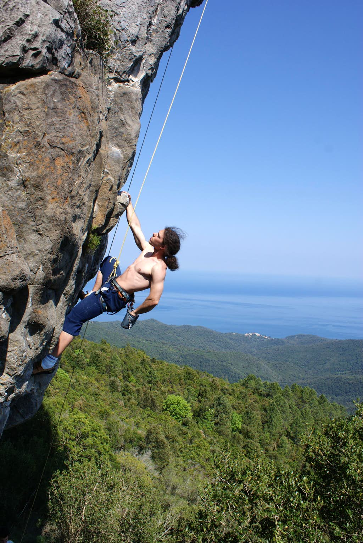 Corsica climbing