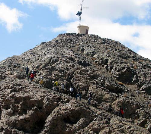 قله باقران