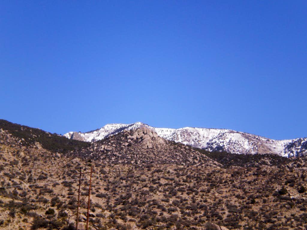 Sandia (South Peak)