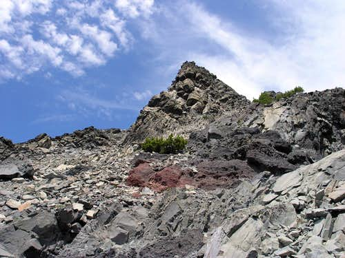 Mt Thielsen Upper 2