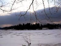 Winter by Lake Solina