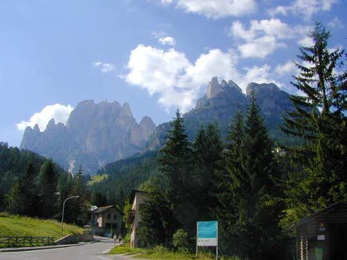 Dolomites -first view from...