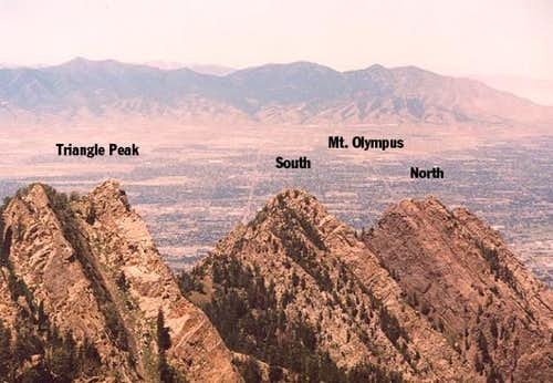 Triangle Peak, South and...