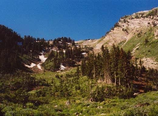 Upper Alexander Basin, with...