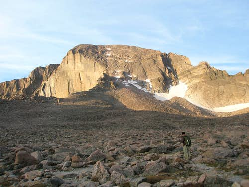 Longs Peak Keyhole Route August 23, 2009