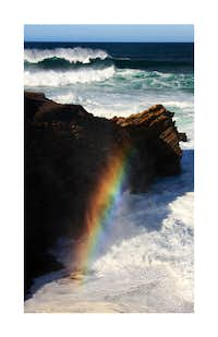 Rainbow at the Point