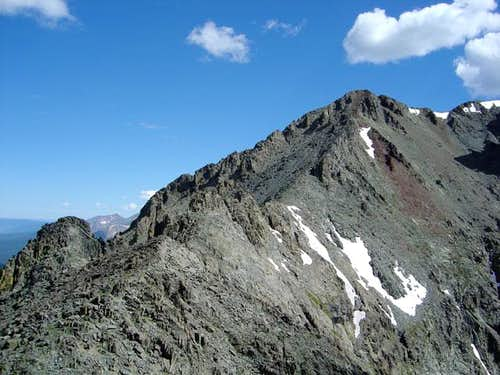 View of Tepee Mountain\'s...