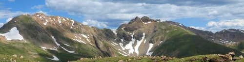 Panorama of Hagar Mountain...