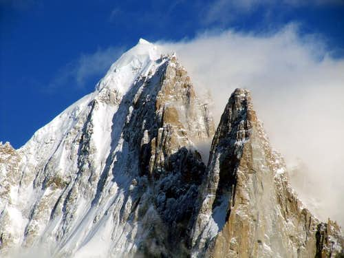 Aiguille Verte and the Drus