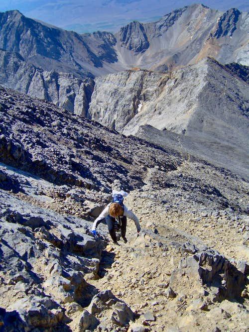 Summit Pyramid - Mt Borah