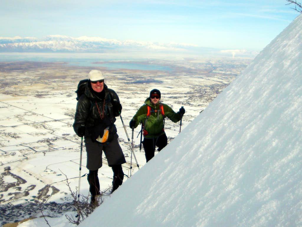 Crowd Ridge on Spanish Fork Peak, Utah